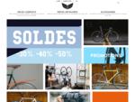 Magasin de vélos fixie et de pièces détachées à Paris