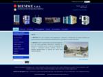 Camere climatiche Camere termostatiche azoto liquido Camere termobariche BIEMME S. A. S.