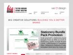 Big Creative Solutions Brand Design, Graphic Design and Website Design in Warwickshire