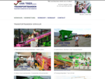 Verhuur Transportbanden | Van Trier Transportbanden Tholen