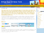 Flyg New York Flygresor New York, guide New York