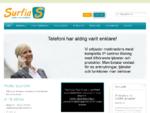 Surfia levererar bredband, IP telefoni och telefonväxellösningar för företag. Välkommen!