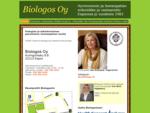 Biologos Oy - Hyvinvoinnin ja homeopatian erikoisliike ja vastaanotto Espoossa jo vuodesta 1983