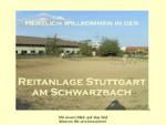 Reitanlage Stuttgart am Schwarzbach nbsp; Tel. 0 1 7 7 6 2 3 9 5 1 1