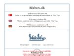 Bixbox - reservedele, spare parts, ersatzteile, Velo Vap