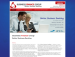 Business Finance Group, Better Business Banking, Commercial, Trade, Construction