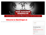 The Black Dragon Kickboxing Club