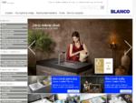 Blanco rsaquo; kuchynské nerezové, silgranitové a keramické drezy, kuchynské batérie, systémy tri