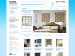 Blinds Online | Roller Blinds, Roman, Vertical Blinds Curtains