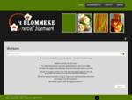 't Blommeke - Creatief Bloemwerk - Home
