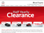 Blood Toyota - Located in Geelong. Specialist in New Toyota, Used Toyota, Toyota Fleet and Toyota