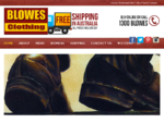 RM Williams Boots, Shoes and Clothing Online - Outlet Store Locations Australia