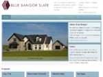 Blue Bangor Slate - roofing, walling, paving and tiling products
