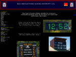 SCOREBOARDS AND DIGITAL CLOCKS