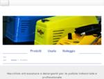 Blu Mapul - Macchine attrezzature detergenti pulizia industriale professionale