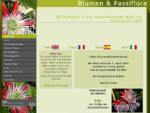 Blumen Passiflora
