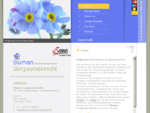 Blumen Vergissmeinnicht - Irene Falgschlunger, Dorf 17 6071 Aldrans, Tirol, Innsbruck, Blumengeschäf