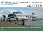 Downtown Toronto Bed and Breakfast, Toronto BB, Boat Hotel | Making Waves Boatel
