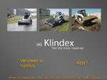Klindex tegeleb kompaktlaadurite ja miniekskavaatorite rendi, müügi ja hooldusega.