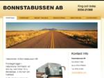Bussbolag, Bussföretag, Bussresor, Kil, Karlstad, Sunne | Bonnstabussen AB