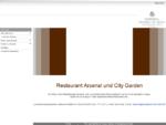Restaurants in Wien mit Garten, Restaurant Arsenal, City Garden, Lobby Bar