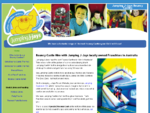 Bouncy Castle Hire Australia Wide featuring the moving mouth Jumping Castle and More - Jumping ...