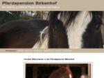 Pferdepension Birkenhof | Padocks | Reitplatz | Vollpension | Frauenzell Altusried im Allgauml;u