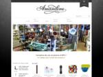 Boutique Amandine | cafetière, chaudron, batterie de cuisine, fondu, planche à découper, uste