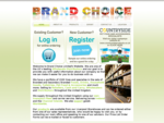 Brand Choice International - Wholesalers of Food, Drink, Toiletries, Confectionary and more