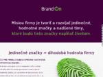 Marketingové stratégie a komunikácia, Stratégia firmy a značky BrandOn