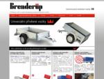 Přívěsný vozík za auto přívěs Brenderup Thule