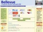 Site de communication et d'information sur la vie du quartier de Bellevue (17 000 habitants de l...