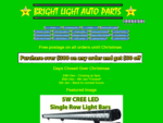 Bright Lights Auto Parts - Welcome to the home of Bright Lights Auto Parts