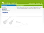 Broadsound - Äänituotannon ammattilainen