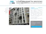 Home | Studiebureel Michel Brosens | Raadgevend studiebureel burgerlijke bouwkunde