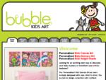 Bubble Kids Art - Kids canvas art | Baby Nursery Art | Kids bedroom decor | Decorating kids rooms