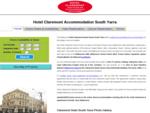 Claremont Hotel Melbourne - Budget hotels