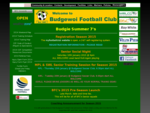Budgewoi Football Club - Home