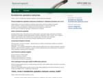 Buhalterinės apskaitos tvarkymas | Buhalterines paslaugos