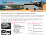 Bus hire Sydney - Coach Charter | Sydney Airport Shuttle | Group Transfers