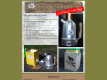 Aussie Dingo Bush Kettle - for camping outdoors