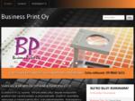 Business Print Oy - graafinen suunnittelu ja painopalvelu Espoossa