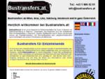 Bustransfers: österreichische Busse und Minivans für Transfers mieten