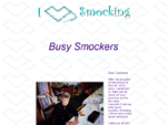 Busy Smockers - Smocking and fine needlework