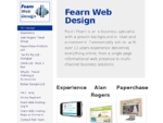 Fearn Web Design - Robin Fearn - eBusiness Specialist Web Designer