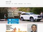 Car Loans, Car Leasing and Car Insurance from Toyota Financial Services