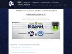 SV Blau-Weiß 91 Bad Frankenhausen e. V. Der Sportverein BW 91 Bad Frankenhausen e. V. stellt sich