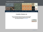 Canadian Stamps and collectables of Bwdavis - Canadian Stamps