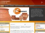 Ceramart Εργοστάσιο κεραμικής - Γλάστρες - ζαρντινιέρες - Φρουτιέρες - Διακοσητικά κεραμικά
