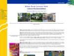 White Rock Leisure Park - Budget Cabin Camping Site Leisure Accommodation